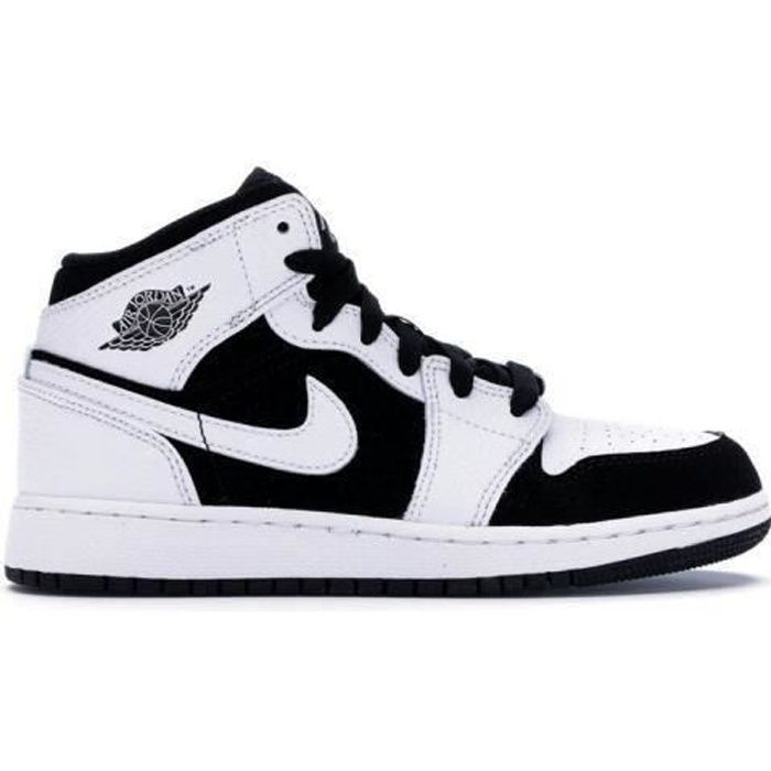 Air force one mid utility white black - Cdiscount