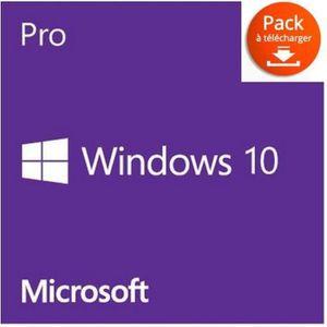 CLÉ USB Windows 10 Professionnel ( licence uniquement )