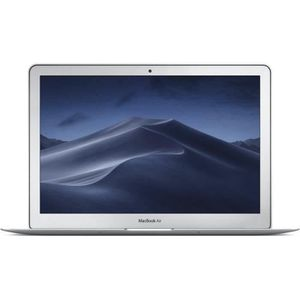 "PC Portable APPLE Macbook Air 13,3"" - Intel Core i5 - RAM 8Go - 128Go SSD - Gris Argent - Reconditionné Bon état pas cher"