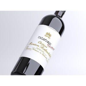 VIN ROUGE X1 Château Mouton Rothschild 2011 150 cl AOC Pauil