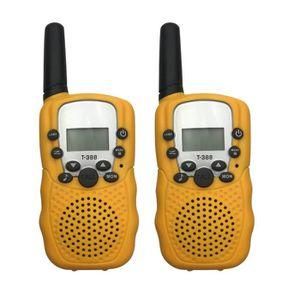 INTERCOM MOTO 2pcs radio talkie-walkie huit canaux 2 voies radio