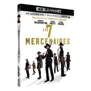 BLU-RAY FILM LES SEPT MERCENAIRES BLU RAY 4K NEUF SOUS BLISTER