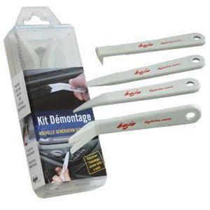 Kit 12 pcs Outil Démontage Réparation Autoradio Plastique Clips DACIA