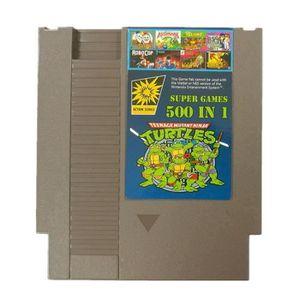 JEU DS - DSI 500 en 1 Cartouche de jeux gris pour Nintendo NES