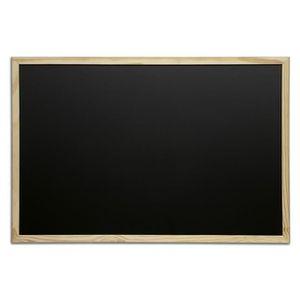 ARDOISE - CRAIE Tableau pour craie cadre bois 60 x 80 cm Bois