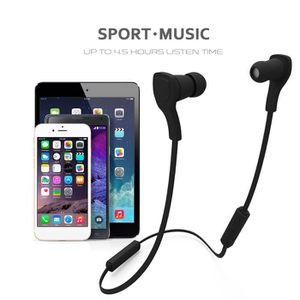 CASQUE - ÉCOUTEURS Écouteur Sport Portable Bluetooth Musique Lecture
