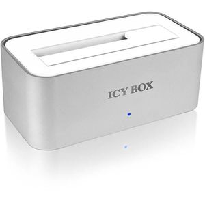 RACK - BAIES  ICY BOX IB-111StU3-WH Docking Station pour Disque