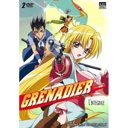 DVD MANGA DVD Grenadier - L'intégrale