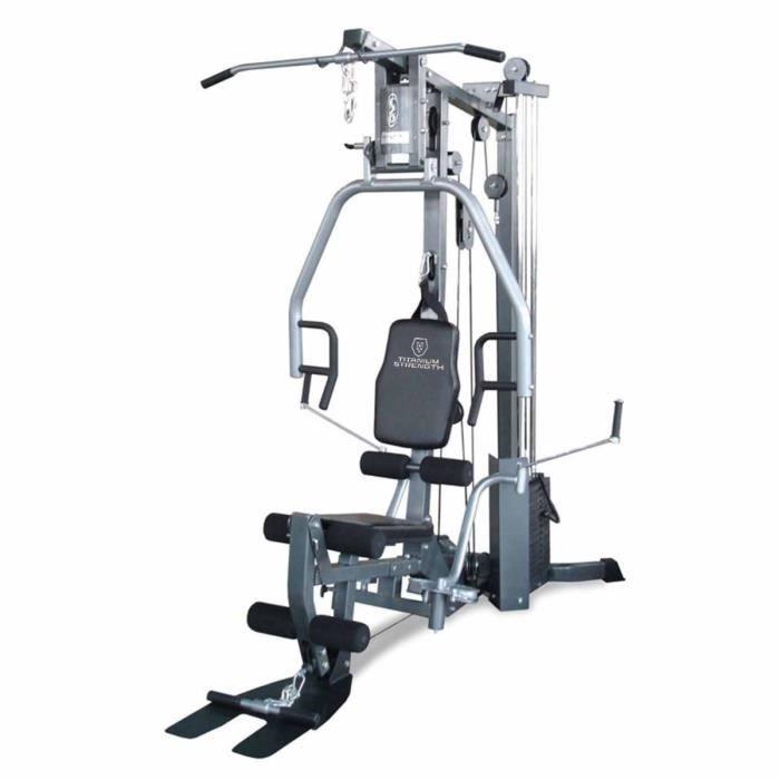 Multi-Gym + Leg Press (Optionnel) Titanium Strength
