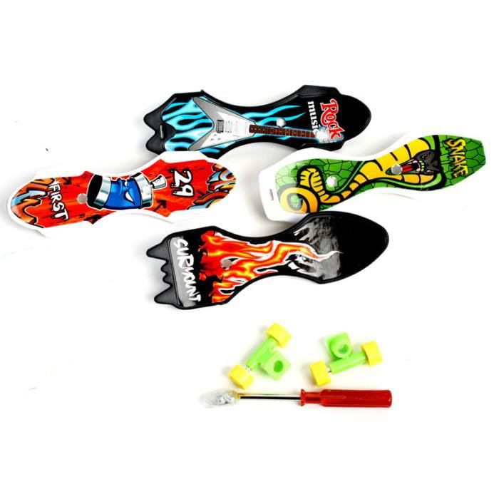 Skate à doigts mini 9cm tournevis+vis+roues Tai…