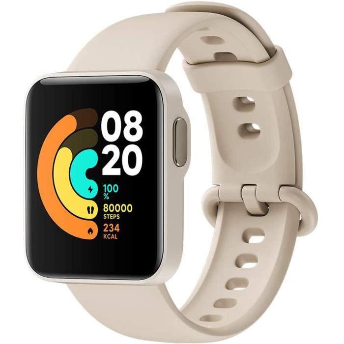 Xiaomi Mi Watch Lite, Smartwatch Bluetooth Fitness Tracker Écran Tactile Neutre 1,4 Pouces Tracker D'activité étanche de 50 m,482