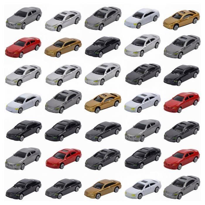 50 pcs sable Table modèle de voiture 1:75 de Mini Simulation automatique VEHICULE A CONSTRUIRE - ENGIN TERRESTRE A CONSTRUIRE