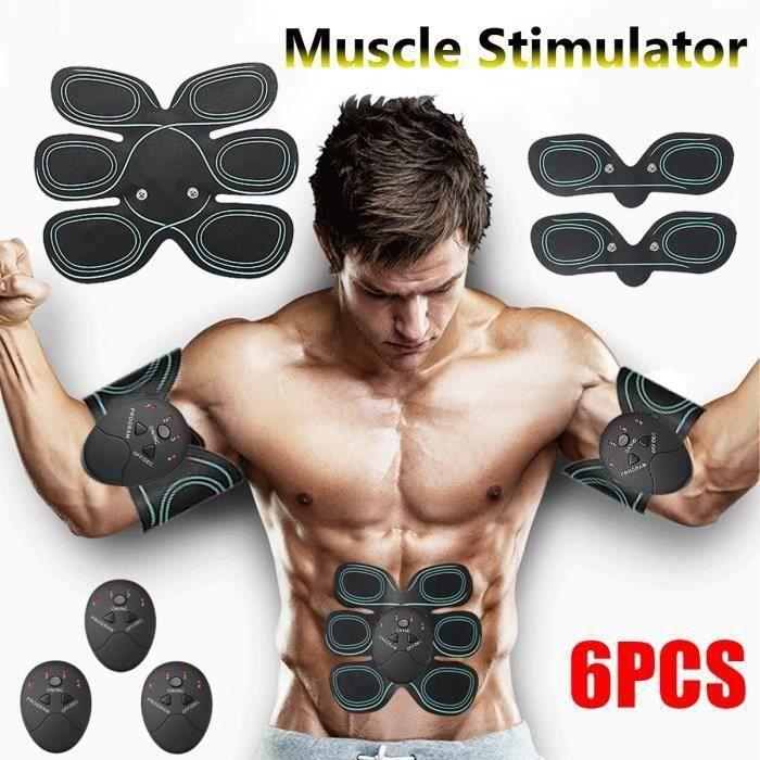 Appareil Abdominal Ceinture Abdominal développement Musculaire Bras ventre Fitness Entraînement Gym pour Femme Homme L35407
