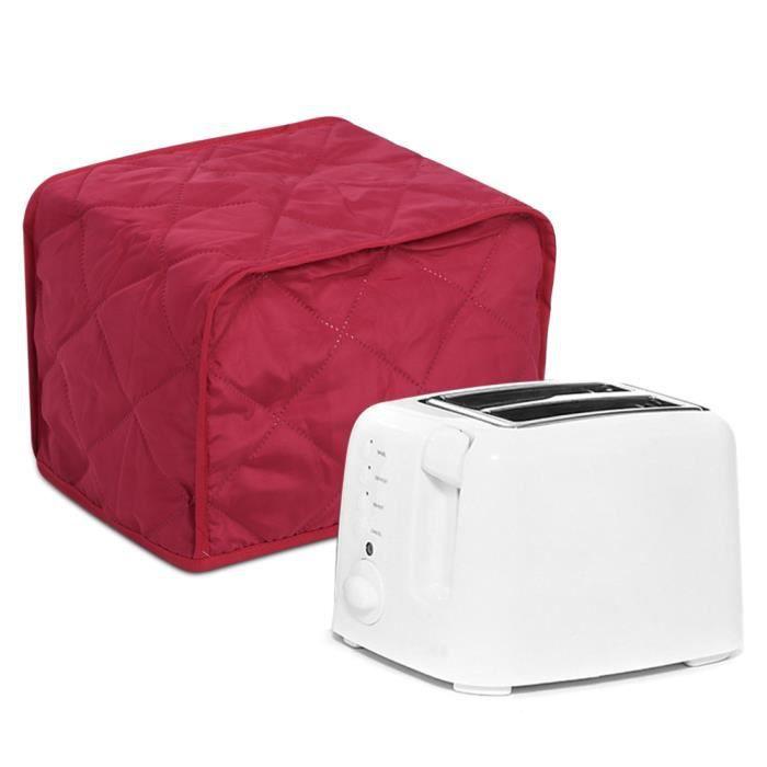 Couvercle de machine à pain Cuisine Electroménager Housse de protection Housse de protection pour machine à pain 2 tranches(Vin