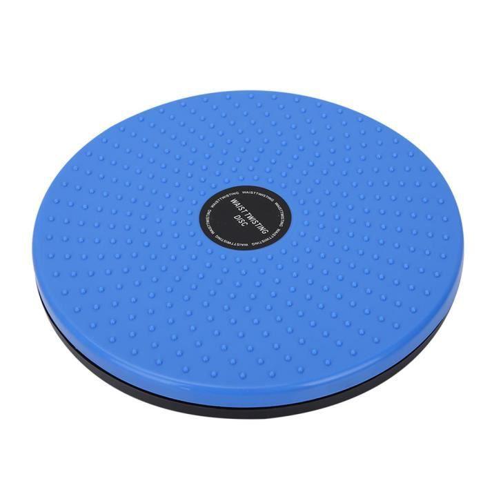 Fdit Équipement sportif Machine de Torsion Taille Mince Amincissant Équipement de Sport en Forme de Corps (Bleu)