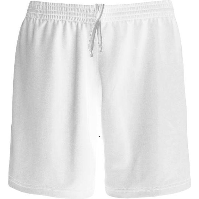 Short Football Polyester Blanc
