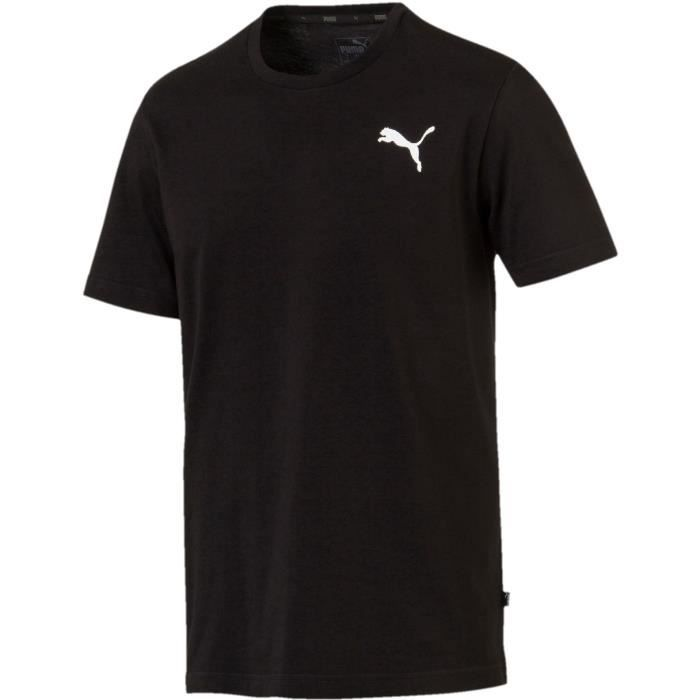 Tee-shirt homme - PUMA - Logo - Noir