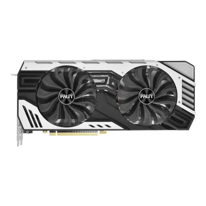 Palit Geforce Rtx 2070 Super Jetstream Carte graphique Gf Rtx 2070 8 Go Gddr6 Pcie 3.0 x16 Hdmi, 3 x Displayport, Usb C