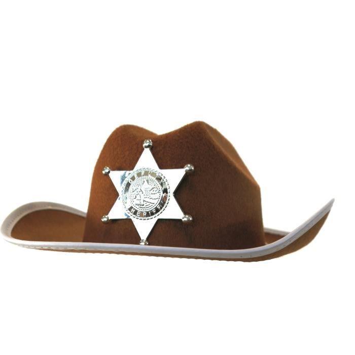 RUBIES Chapeau de Cowboy - Taille unique - Accessoire de déguisement