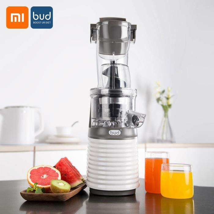 Xiaomi BUD Juicer Fruit Blender Grand Calibre Robot Alimentaire Fruits Légumes Mélangeur 220V Outil De Cuisine