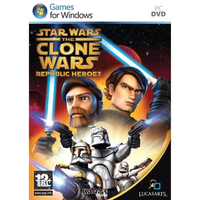 JEU PC Star Wars: The Clone Wars - Republic Heroes PC …