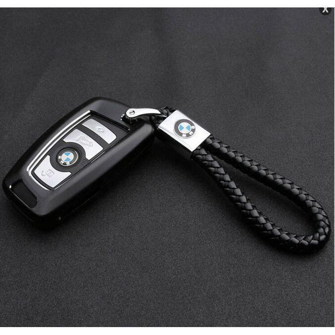 PORTE-CLÉS Porte-clé BMW avec logo BMW à bracelet en cuir Por