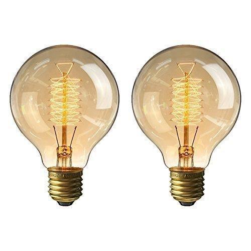 E27 à incandescence 60 W Vintage Antique Edison écureuil cage Ampoules Dimmable