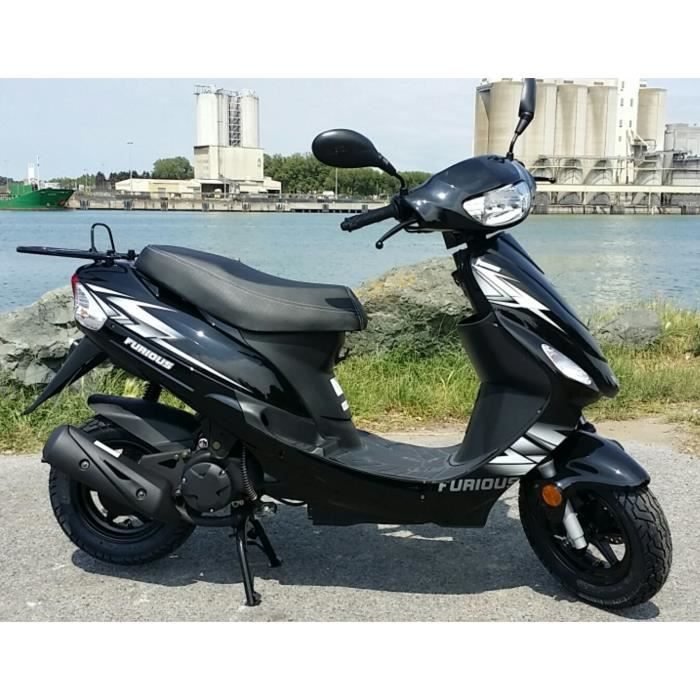 Scooter 50cc Jordon 2 Temps Noir Achat Vente Scooter