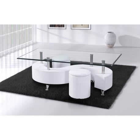 Merveilleux table basse en verre carree 7 table basse s for Table basse verre carree