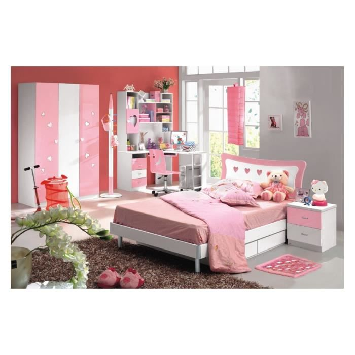 chambre enfant compl te rosie land achat vente lit complet chambre enfant compl te ros. Black Bedroom Furniture Sets. Home Design Ideas