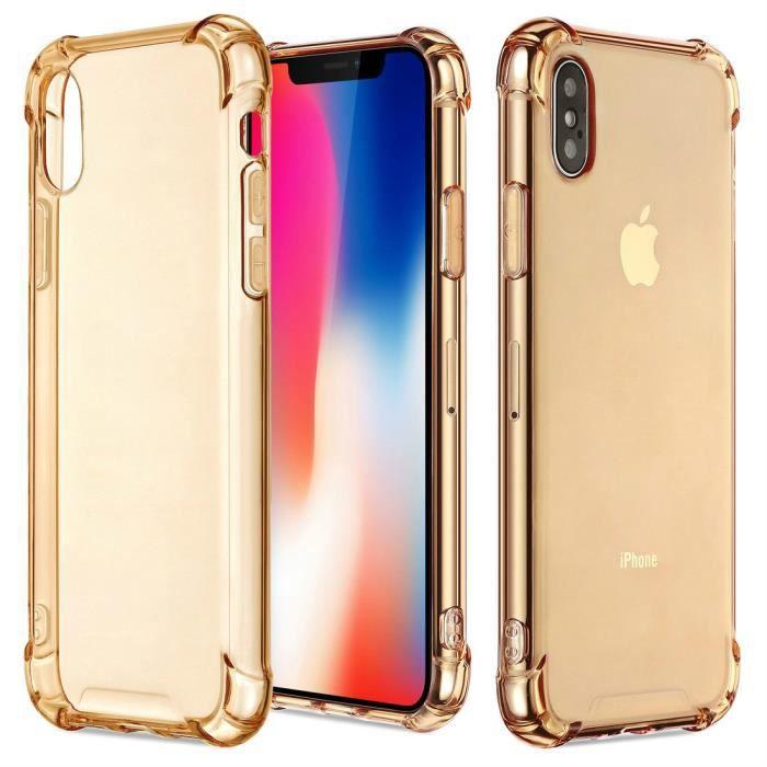 Coque iPhone X,Coque iPhone Xs Transparent Doux So