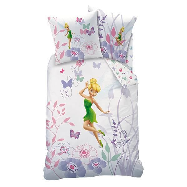 housse de couette disney fairies achat vente housse de couette cdiscount. Black Bedroom Furniture Sets. Home Design Ideas