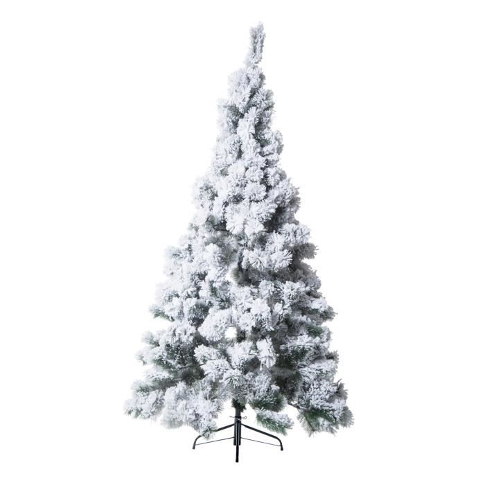 sapin artificiel arbre de no l blanc neuf42 achat vente sapin de no l arbre de no l. Black Bedroom Furniture Sets. Home Design Ideas