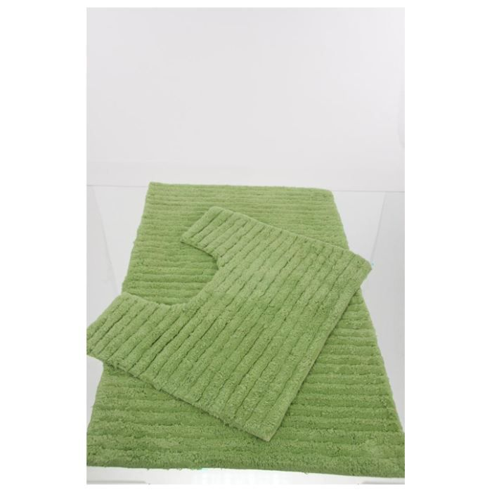 tapis de salle de bain contour wc vert achat vente. Black Bedroom Furniture Sets. Home Design Ideas