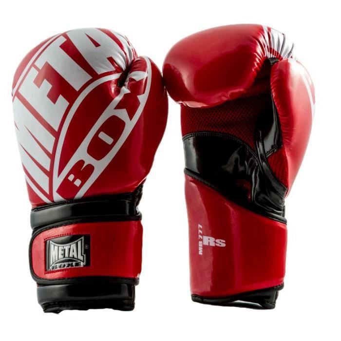 gants de boxe road sport rouge m achat vente gant de. Black Bedroom Furniture Sets. Home Design Ideas