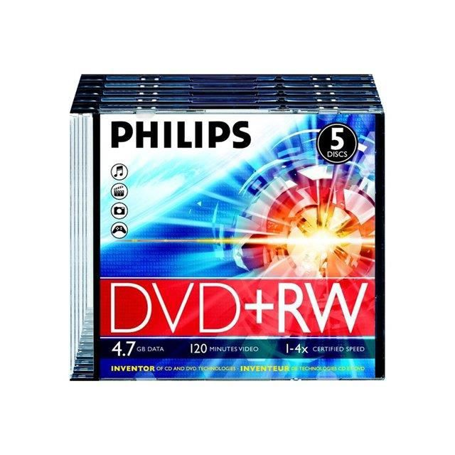 dvd vierge dw4s4st05f philips prix pas cher cdiscount. Black Bedroom Furniture Sets. Home Design Ideas