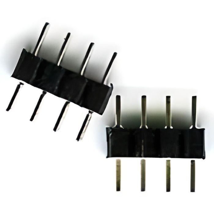 LitaElek 5 broches RGBW LED Strip soudure sans joint Adaptateur /à bandes LED /à 5 conducteurs pour Lampe /à Bande LED Ruban LED Cordage LED SMD 5050 RGBW RGBWW LED de 10 mm de large 20pcs