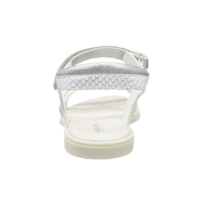 Geox - Geox J Sand Karly D Sandales Fille Argent J5235D