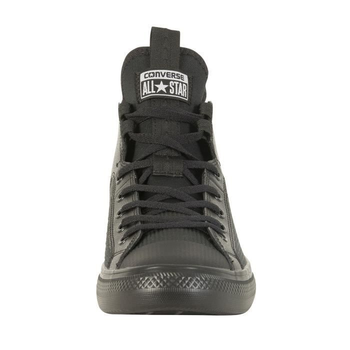 Converse Homme Baskets CT All Star en cuir ultra, Noir