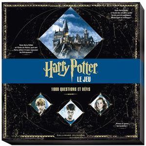 LIVRE JEUX ACTIVITÉS Harry Potter, le jeu