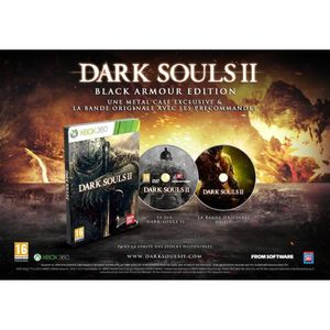 JEUX XBOX 360 DARK SOULS 2 BLACK ARMOUR EDITION  / Jeu XBOX 360