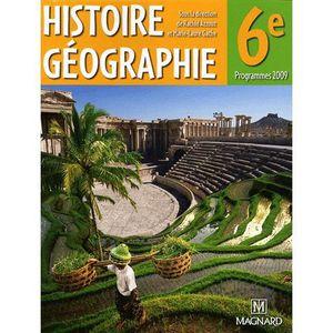 Histoire Geographie 6e Achat Vente Livre Rachid Azzouz