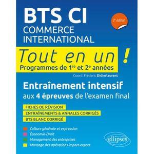 MANUEL BTS BTS CI Commerce International . Tout en un, progra