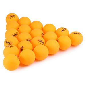 BALLE TENNIS DE TABLE 60pcs Balles de ping pong  , balles de régulations