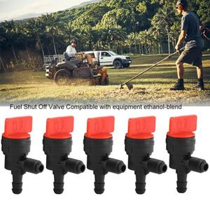"3Kit 1//4/"" en Ligne Carburant Filtre à Gaz Shut Cut Off Valve Pince Pour Briggs /& Stratton"