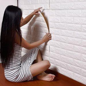 STICKERS 3D sticker mural en brique auto-adhésifs panneau a