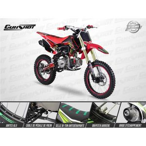 MOTO Moto Pit Bike GUNSHOT 125 FX - Édition MONSTER - 1