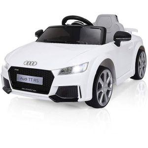 VOITURE ELECTRIQUE ENFANT Voiture électrique Audi TT RS pour enfant 12V - bl