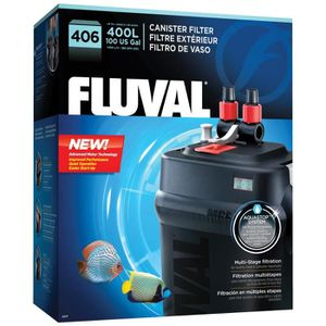 FILTRATION - POMPE FLUVAL Filtre extérieur 406 - Pour aquarium