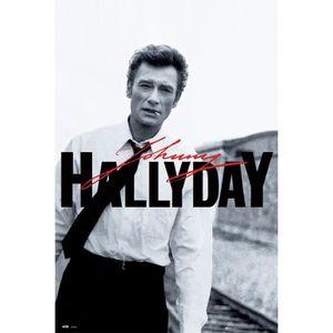 AFFICHE - POSTER Affiche Johnny Hallyday